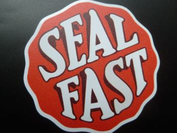 "Bowes Seal Fast Sticker. 4"" or 6""."