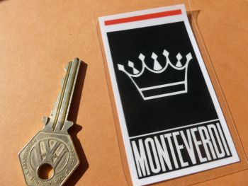 "Monteverdi Car Body or Window Sticker. 3.5""."