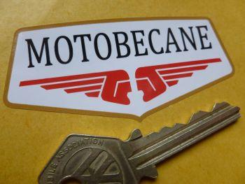 """Motobecane Pocket Top Shape Sticker. 3""""."""