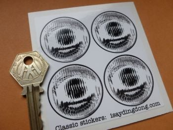 False Headlight Headlamp Stickers. 25mm or 38mm. Radio Controlled, Pedal Cars.