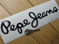 Pepe Jeans Race Car Sponsors Cut Vinyl Sticker. 10