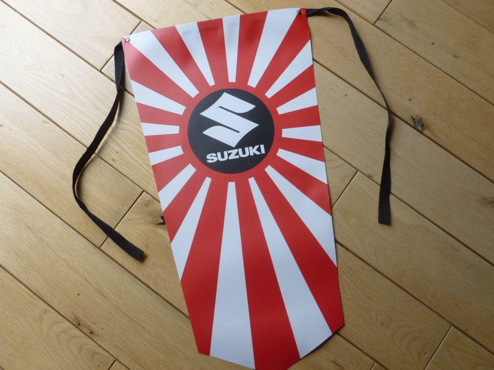 Suzuki Motorcycle Hinomaru Flag Pennant