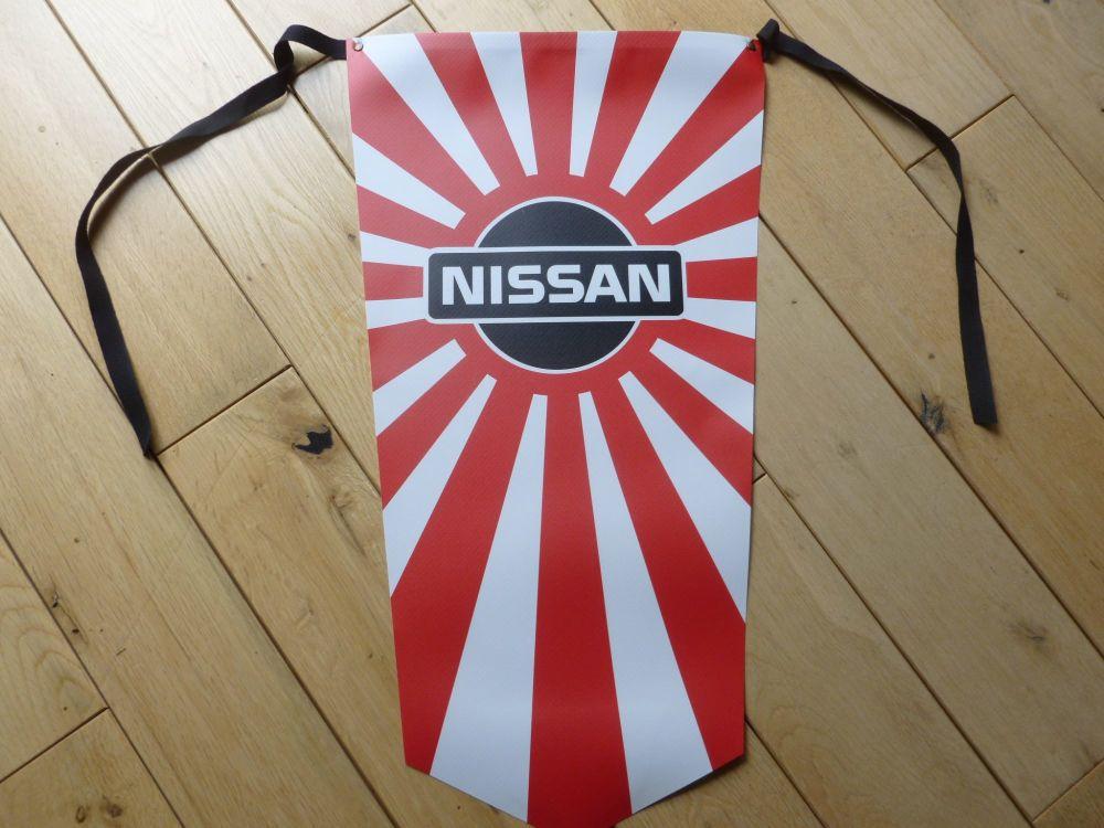 Nissan Hinomaru Flag Pennant