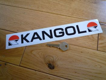 "Kangol Helmets Oblong Shaped Sticker. 11"""