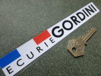 "Ecurie Gordini Window or Car Body Sticker. 7""."