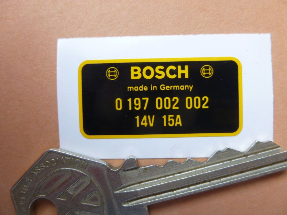 Bosch Diode Board Sticker 0 197 002 002. 36mm.