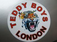Teddy Boys London Tiger Sticker. 2
