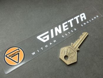"Ginetta Essex Dealer Window Sticker. 7""."