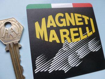 "Magneti Marelli Fomula One Car Sticker. 3""."
