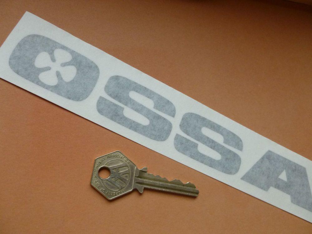 "OSSA Cut Vinyl Text Style Stickers. 8.5"" Pair."
