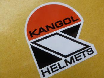 "Kangol Helmets Later Style Shaped Sticker. 4"""