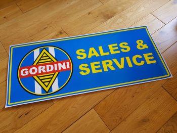 """Renault Gordini Sales & Service Workshop Sticker. 23.5""""."""