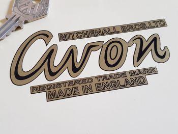 """Avon Mitchenall Bros Ltd Sticker. 4""""."""