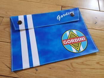 "Renault Gordini Document Holder/Toolbag. 10"" or A4."