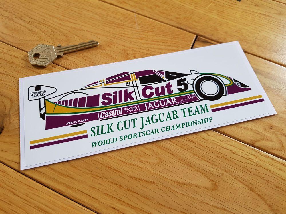 Jaguar Silk Cut Le Mans XJR15 style Sportscar Sticker. 8