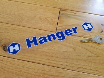 "Hanger Ford Dealer Sticker. 10""."