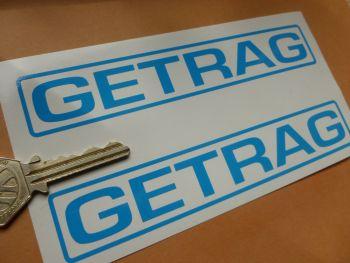 "Getrag Getriebe Cut Vinyl Stickers. 6"" Pair."