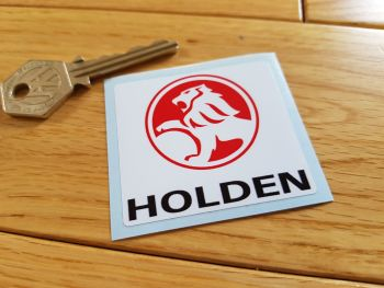 "Holden Square Logo Sticker. 2""."