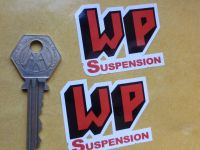 WP Suspension Shaped Stickers. 2