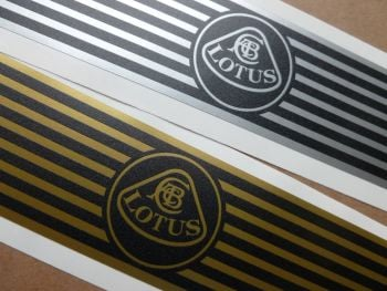 Lotus Narrow Kick Plate Protector Stickers. 575mm x 38mm Pair.