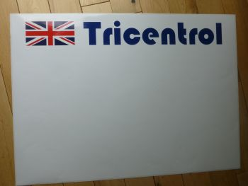 "Tricentrol Plain Style Rally Door Panel Stickers. 27.5"" Pair."