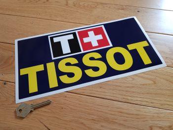 "Tissot Watches Sponsors Sticker. 11.75""."