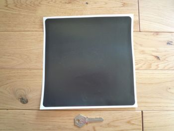 Rear Stick on Number Plate Background - 203mm x 203mm