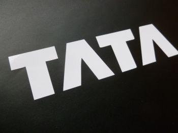 "Tata Cut Vinyl Stickers. 3.5"" Pair."