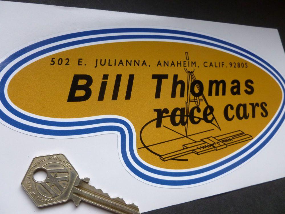 "Bill Thomas Race Cars Sticker. 8.5""."