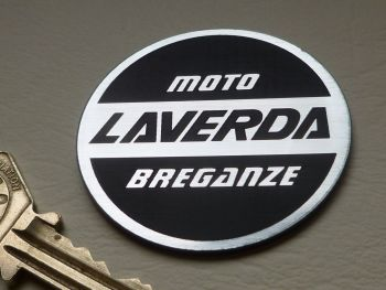 Laverda Laser Cut Self Adhesive Bike Badge. 50mm.
