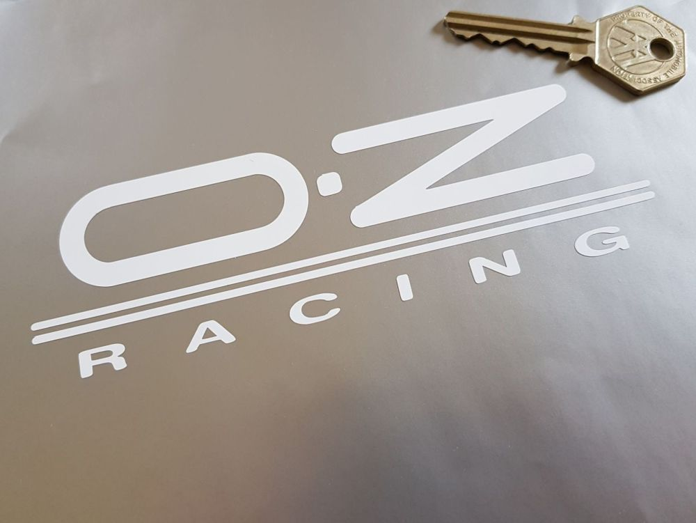 OZ Racing Cut Vinyl Stickers. 6