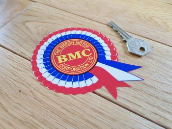 "BMC Off-White Style Rosette Window Sticker. 4""."