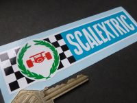 Scalextric 70's Style Oblong Sticker. 6