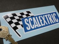 Scalextric 60's Style Oblong Sticker. 6