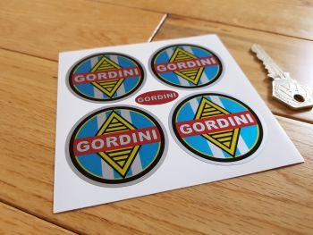 Renault Gordini Wheel Centre Style Stickers. Set of 4. Various Sizes.