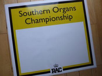 "Southern Organs RAC Formula Atlantic Championship. Door Panel Stickers. 21"" Pair."