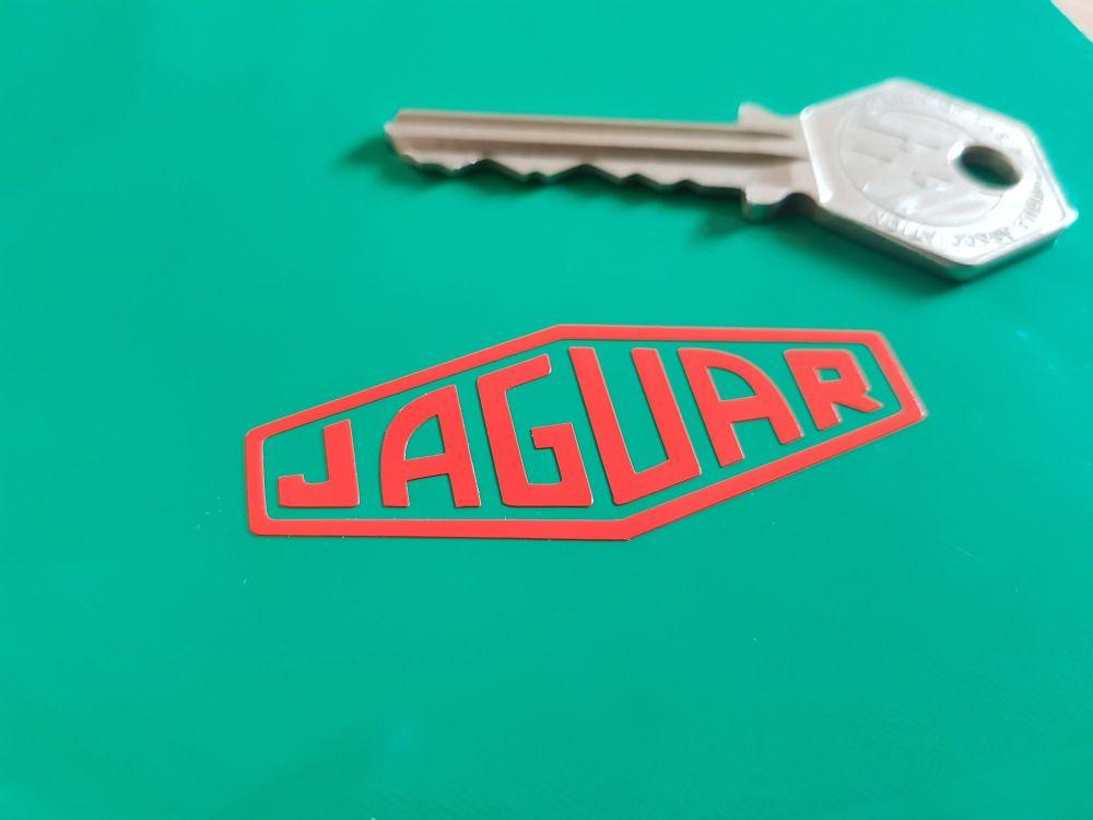 Jaguar Cut Text Lozenge. Various Colours. 2