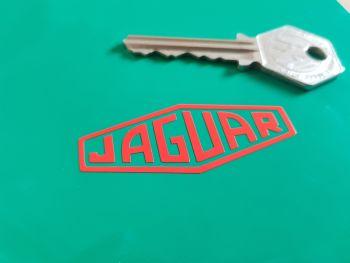 """Jaguar Cut Text Lozenge. Various Colours. 2"""", 3"""" or 4"""" Pair."""