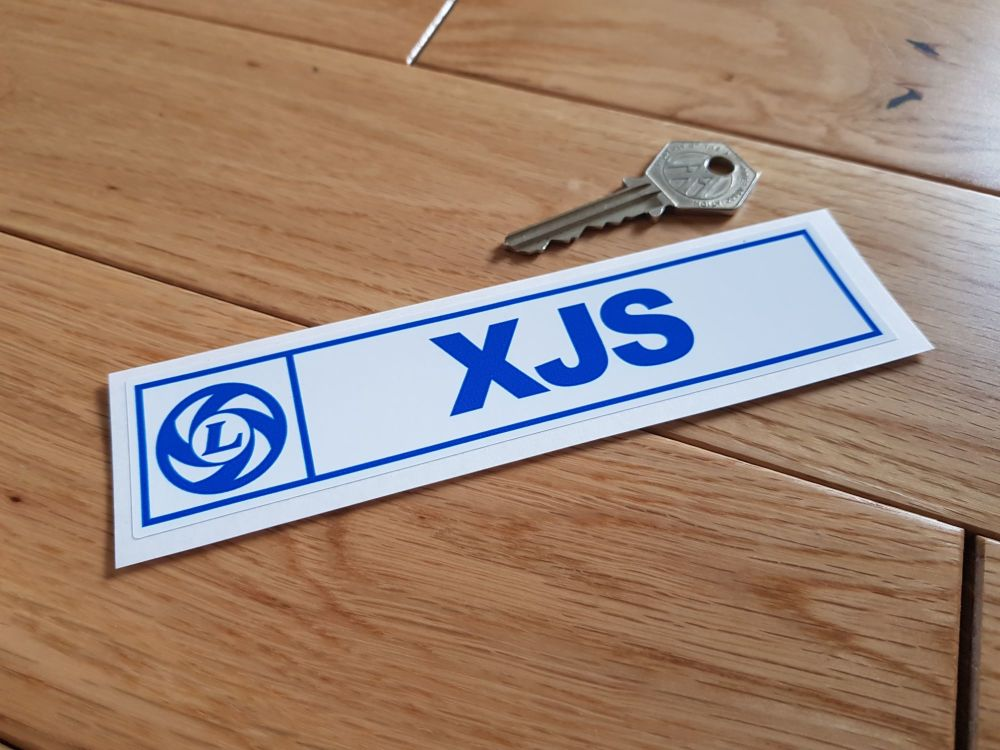 Jaguar XJS British Leyland Sticker 6