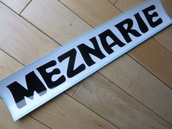 Meznarie Black & White Oblong Sticker 500mm