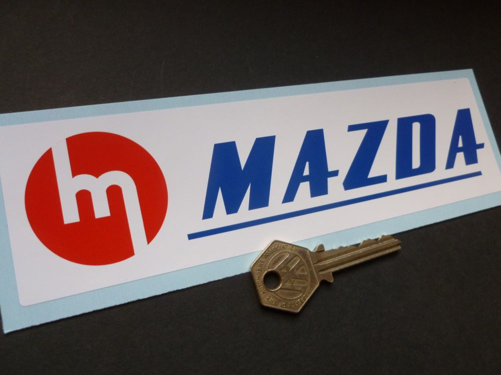 Old style Mazda Japan Racing Style Sticker 8