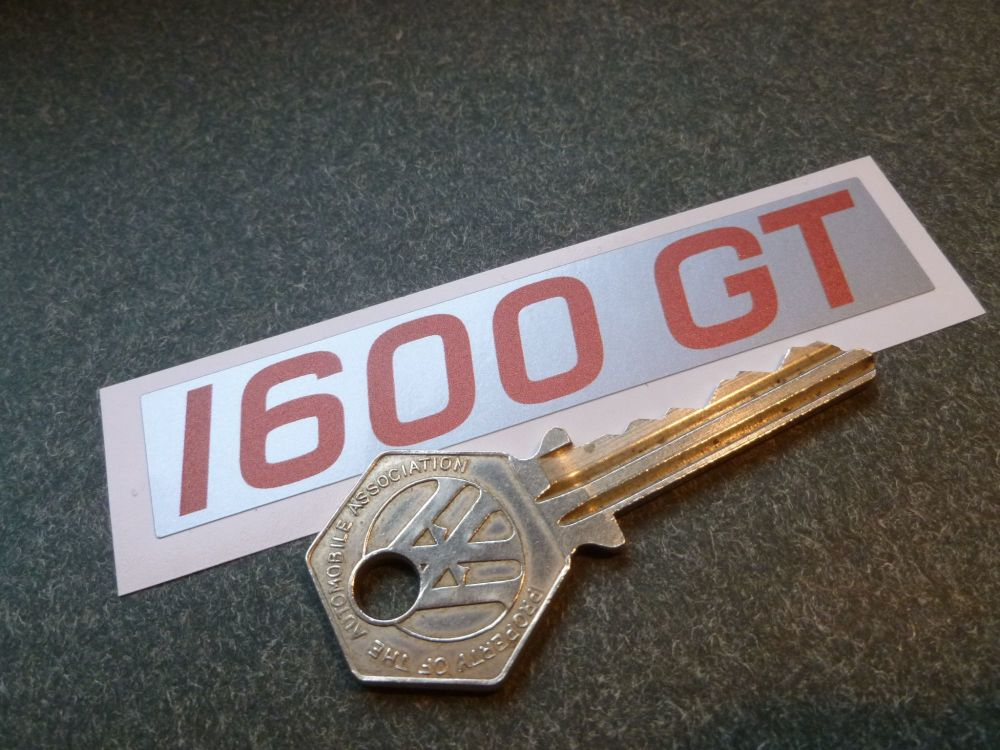 """Ford 1600GT Rockerbox/Cam Cover Sticker. 3.5""""."""