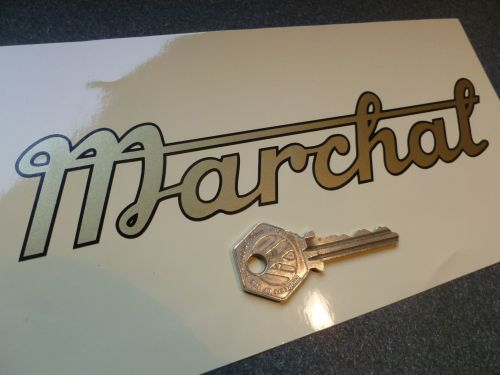 Marchal Old Style Script Cut Vinyl Sticker 8