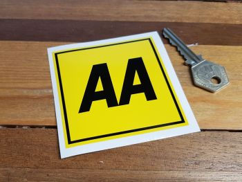 "AA Modern Style Car Sticker - 2"" or 3"""