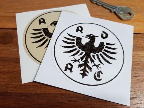 ADAC German Automobile Club Worn Faded Look Sticker. 3.5
