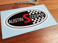 "Austin Cooper S Sticker. 4""."