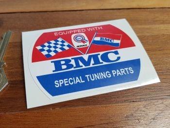"BMC Special Tuning Barrel Static Cling Sticker. 3.5""."