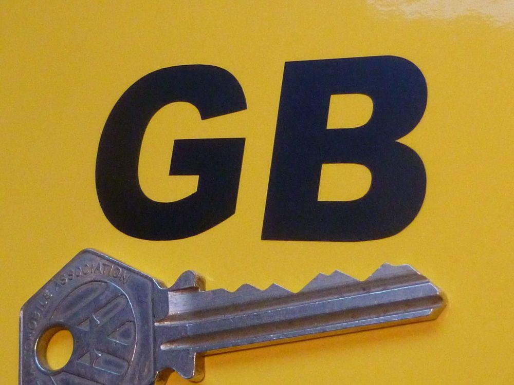 """GB Cut Vinyl Small ID Plate Sticker 2"""""""