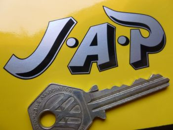 "JAP Cut & Printed Shaped Sticker 3"""