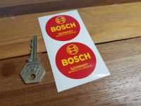 Bosch Germany. Importe D'Allemagne. Circular Stickers. 2